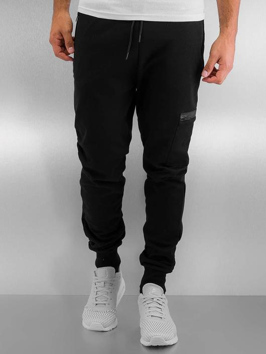 Urban Classics Joggebukser Athletic Interlock svart