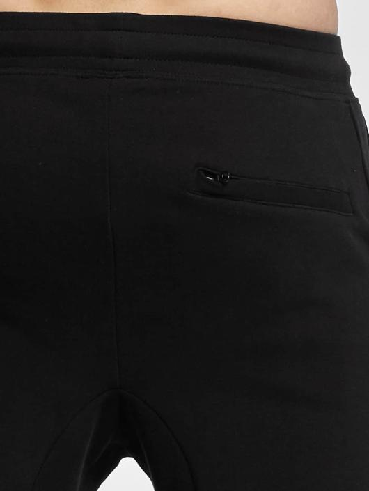 Urban Classics Joggebukser Tapered Interlock svart