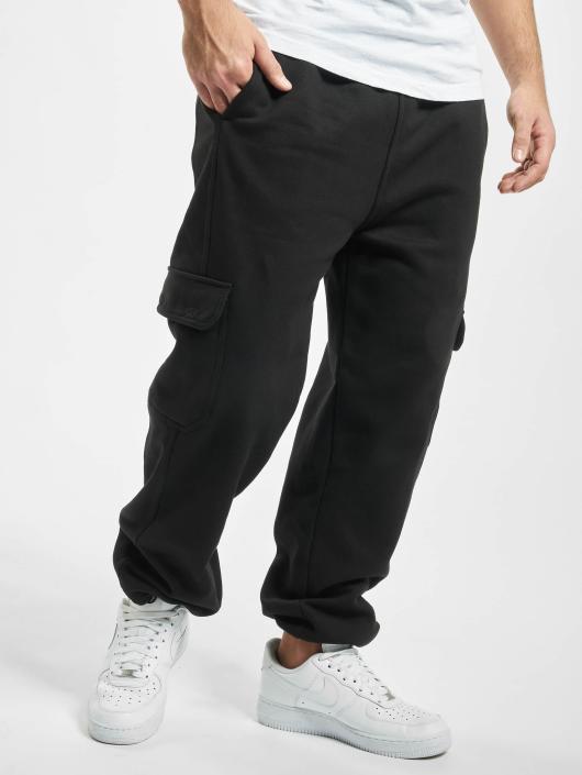Urban Classics Kalhoty   Jogging kalhoty Cargo v čern 33172 548f16a033