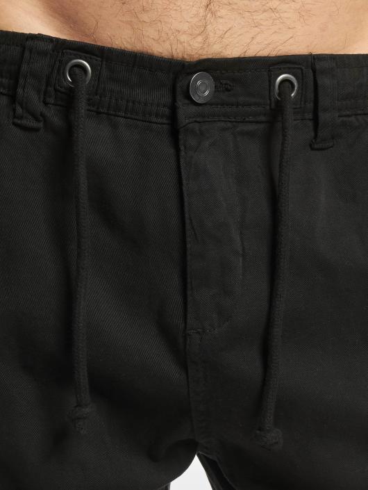 Urban Classics Jogging kalhoty Stretch čern