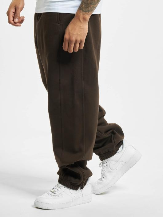 Joggingbroek Baggy Heren.Urban Classics Broek Joggingbroek Baggy In Bruin 33147