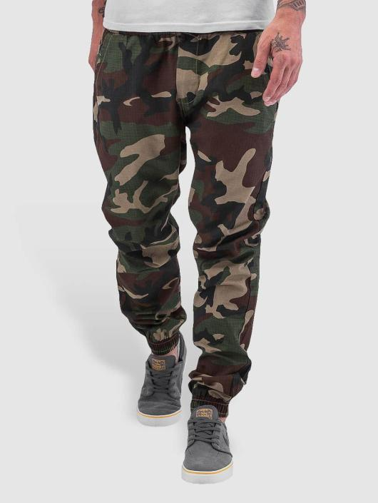 Leger Joggingbroek.Urban Classics Broek Joggingbroek Camo Ripstop In Camouflage 196959
