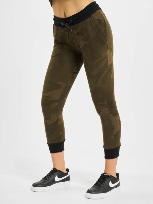 Urban Classics joggingbroek Camo Terry camouflage
