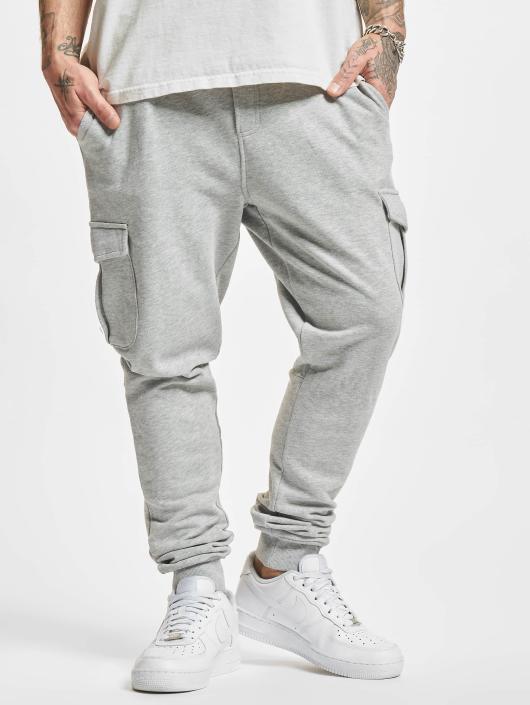 Urban Classics Fitted Cargo Sweatpants Grey