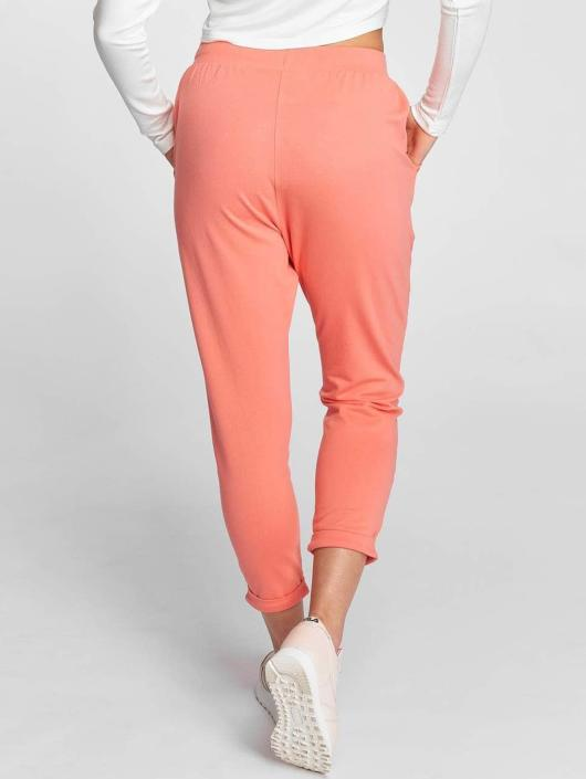 Urban Classics Jogginghose Open Edge Terry Turn Up rosa