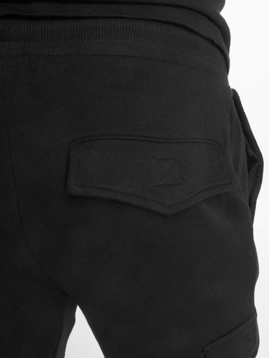 Urban Classics Jogginghose Fitted Cargo schwarz