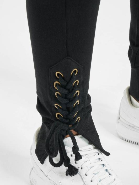 Urban Classics Jogginghose Lace Up Fitted schwarz