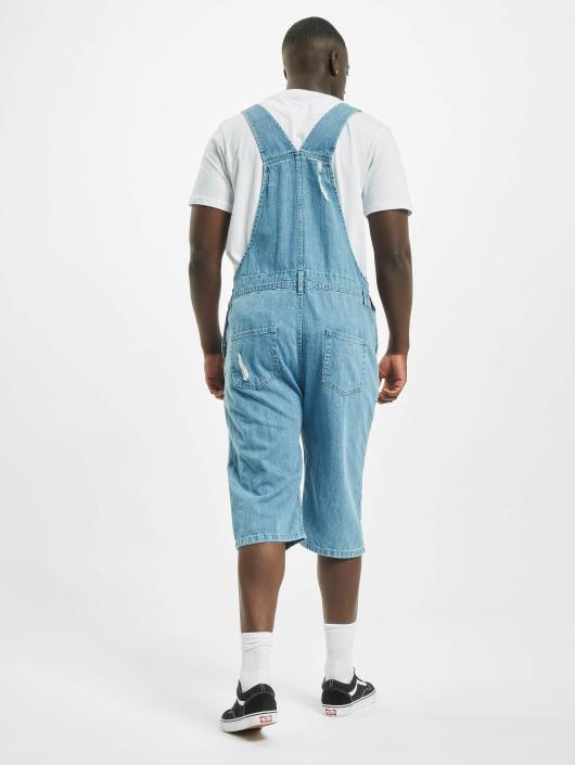 Urban Classics Jumpsuit Denim Dungarees blau