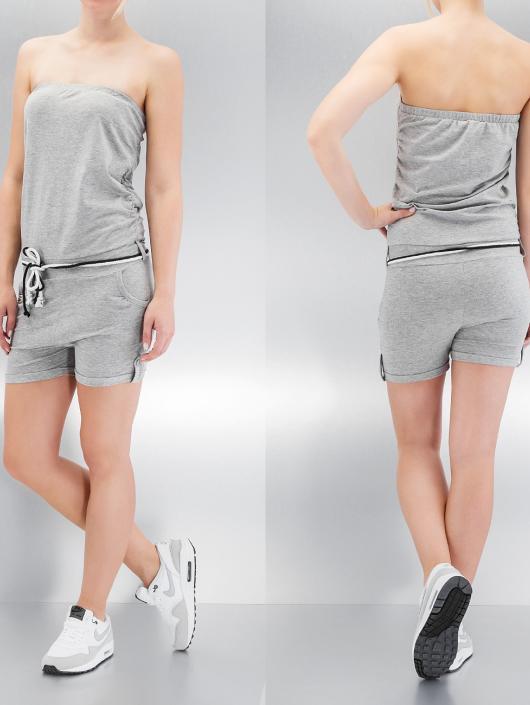 Urban Classics Jumpsuits Hot Turn Up grå