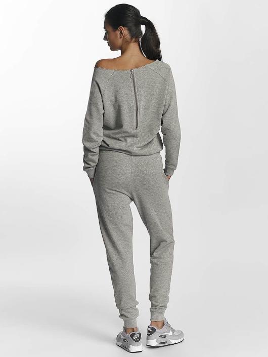 Urban Classics Jumpsuits Terry grå