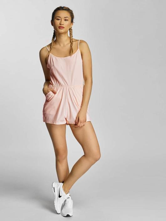 Urban Classics Jumpsuits Spaghetti rosa