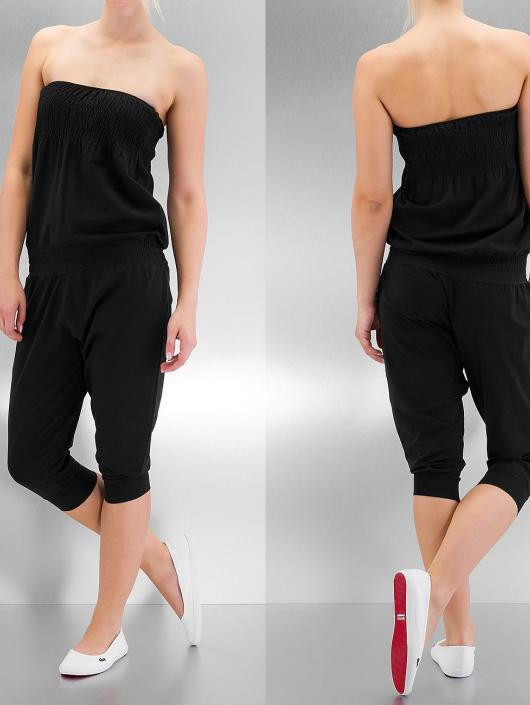 Urban Classics Jumpsuits Shoulderfree Capri svart