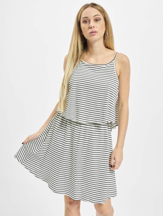 Urban Classics jurk 2-Layer Spaghetti wit