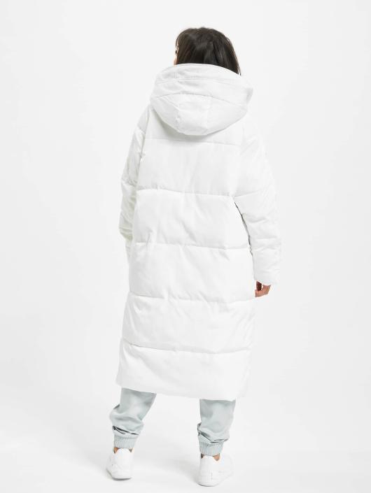 Urban Classics Kåper Oversized Hooded Puffer hvit