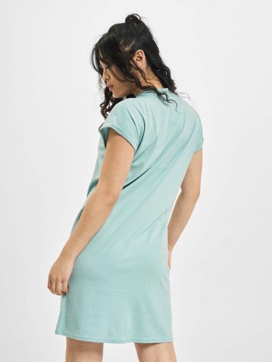 Urban Classics Kleid Turtle Extended Shoulder blau
