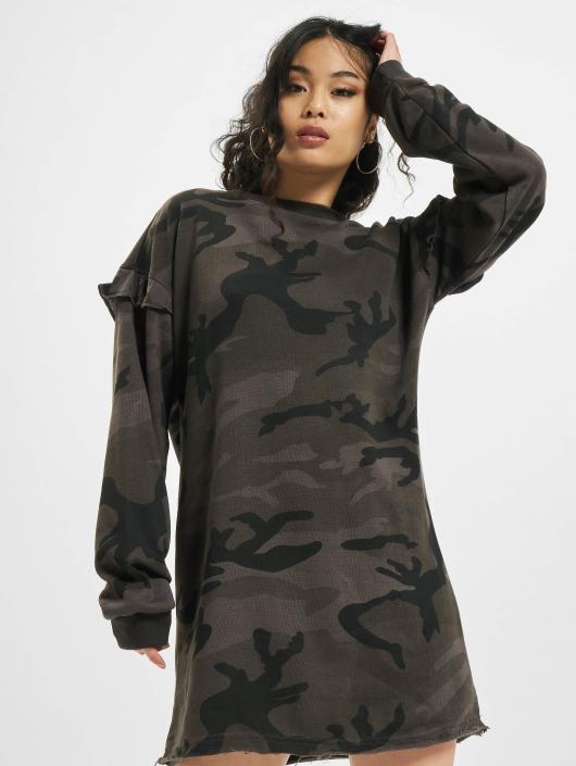 Urban Classics Kleid Camo Volant camouflage