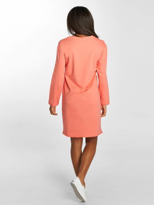 Urban Classics Kleid Terry pink