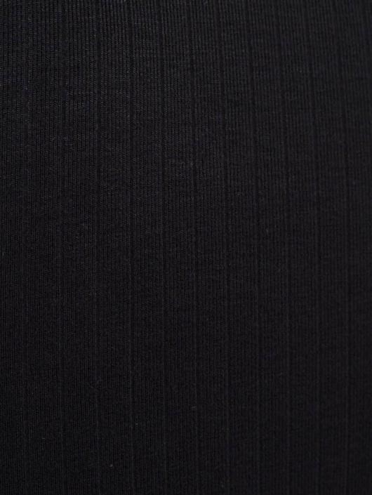 Urban Classics Kleid Long Turtleneck schwarz