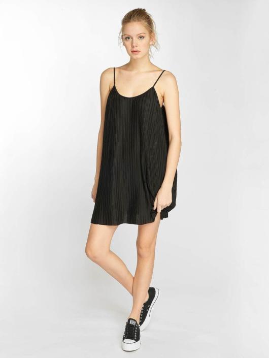 Urban Classics Kleid Jersey Pleated Slip schwarz