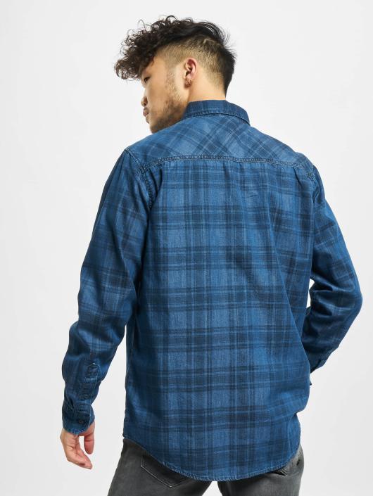 Urban Classics Koszule Printed niebieski