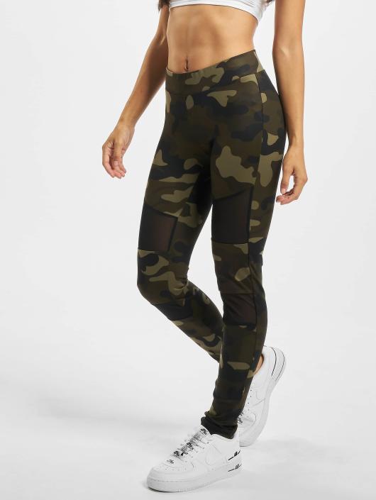 dec65ace438466 Urban Classics broek / Legging Camo Tech Mesh in camouflage 474592
