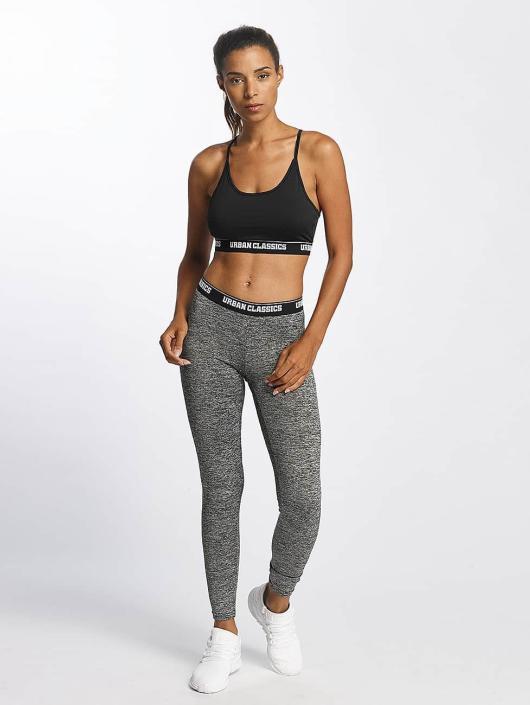 Urban Classics   Active Melange Logo gris Femme Legging 399226 4def27e272cf