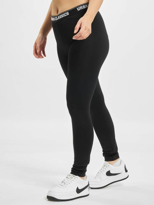 Urban Classics Legging Sports schwarz