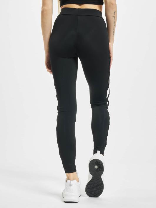Urban Classics Legging/Tregging Ribbon Mesh black