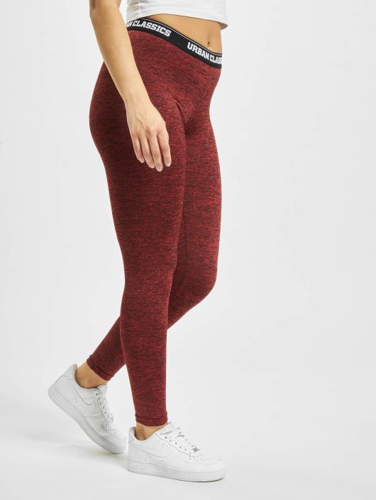 Urban Classics Legging/Tregging Active Melange Logo red