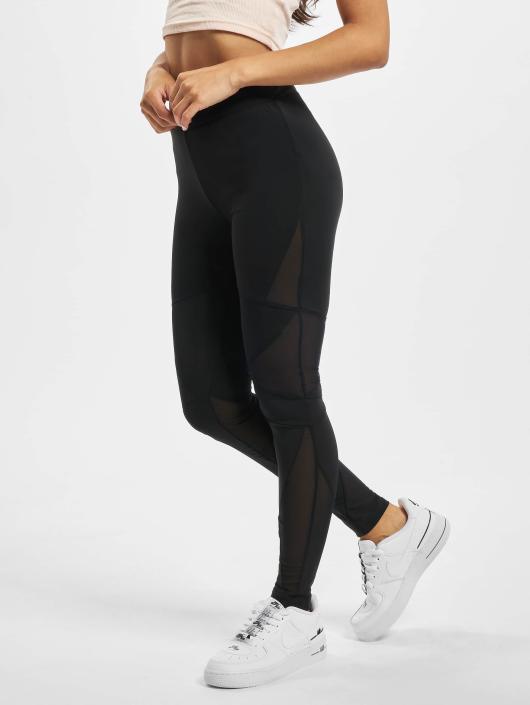 Urban Classics Legging Triangle Tech Mesh zwart