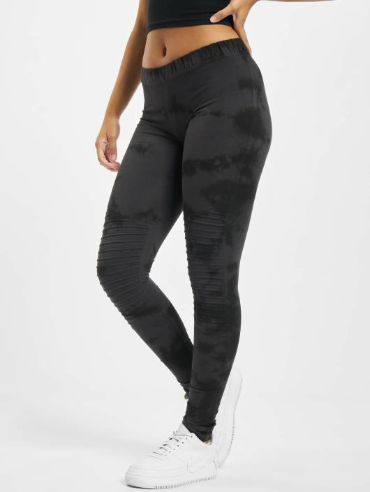 Urban Classics Leggings/Treggings Biker Batik blå