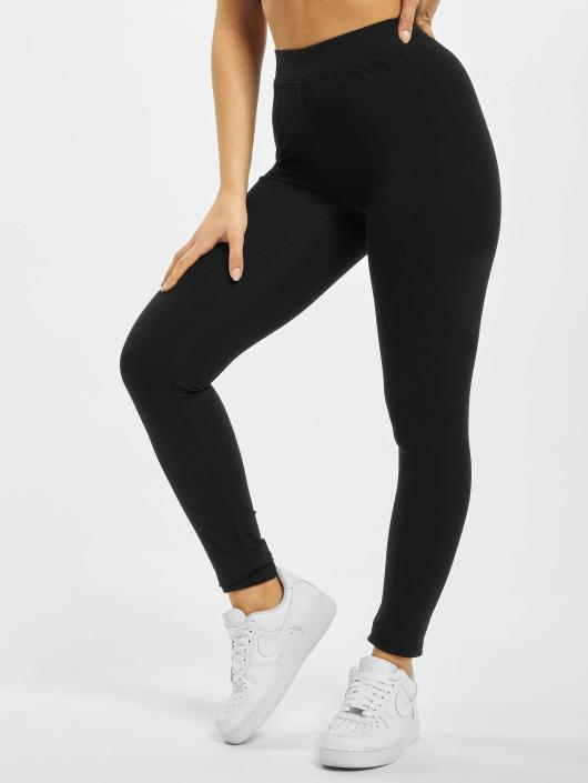 Urban Classics Leggings/Treggings Jersey black