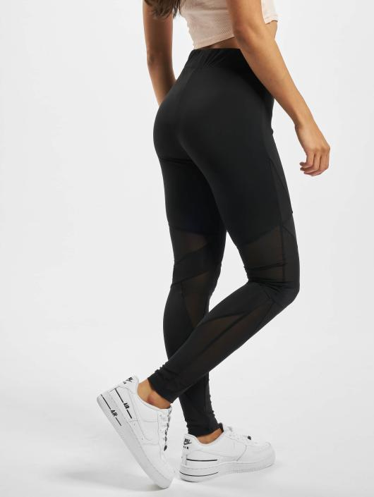 Urban Classics Leggings/Treggings Triangle Tech Mesh black