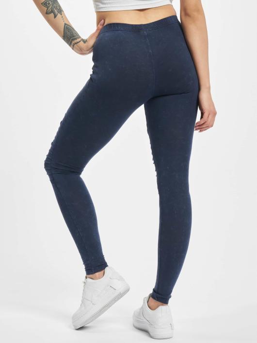 Urban Classics Leggings/Treggings Denim Jersey blue