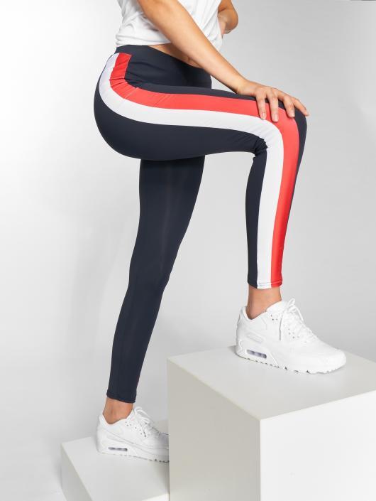 Urban Classics Leggings/Treggings Side Stripe blue