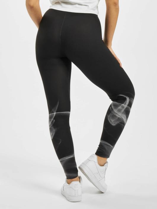 Urban Classics Leggings/Treggings Ladies Smoke czarny