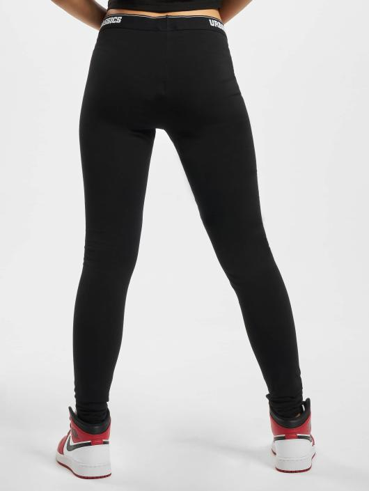 Urban Classics Leggings/Treggings Logo czarny