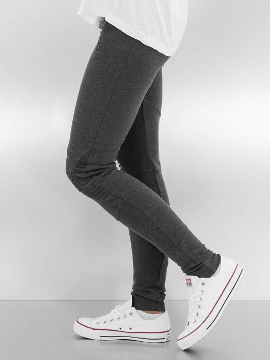 Urban Classics Leggings/Treggings Interlock High Waist grå