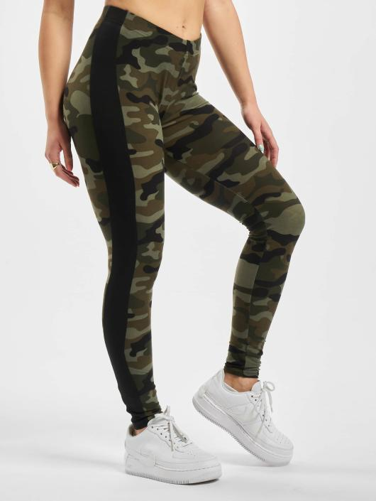 Urban Classics Leggings/Treggings Camo Stripe kamuflasje