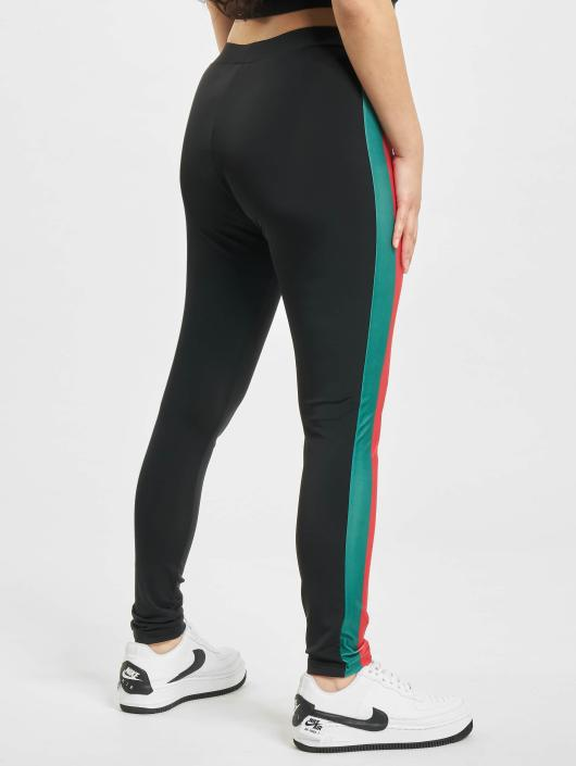 Urban Classics Leggings/Treggings Side Stripe svart