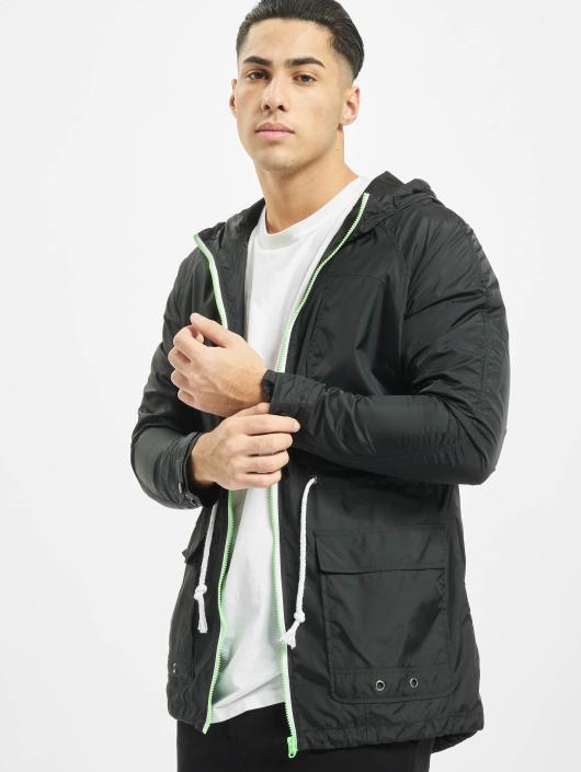 Urban Classics Lightweight Jacket Long Nylon black