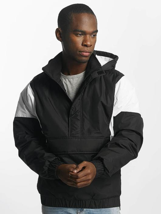 Urban Classics Lightweight Jacket 2 Tone Pull Over black