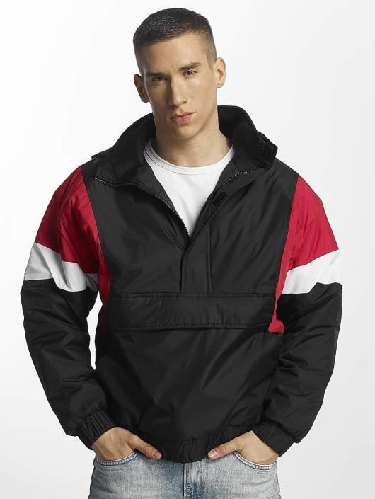 Urban Classics Lightweight Jacket 3 Tone Pull Over black
