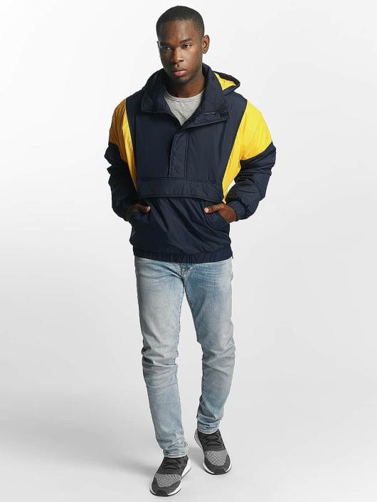 Urban Classics Lightweight Jacket 2 Tone Pull Over blue