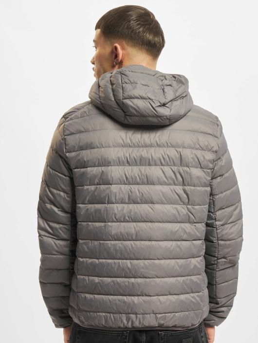 Urban Classics Lightweight Jacket Basic Hooded Down gray