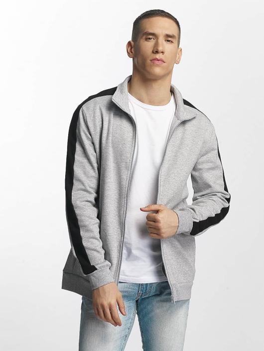 Urban Classics Lightweight Jacket 2 Tone Interlock gray