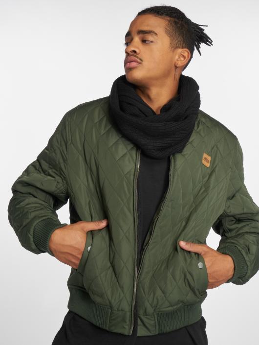 Urban Classics Lightweight Jacket Diamond Quilt Nylon olive