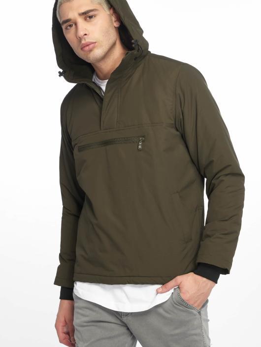 Urban Classics Lightweight Jacket Padded Pull olive