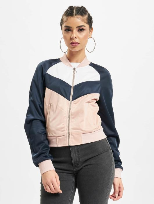 Urban Classics Lightweight Jacket Short Track rose