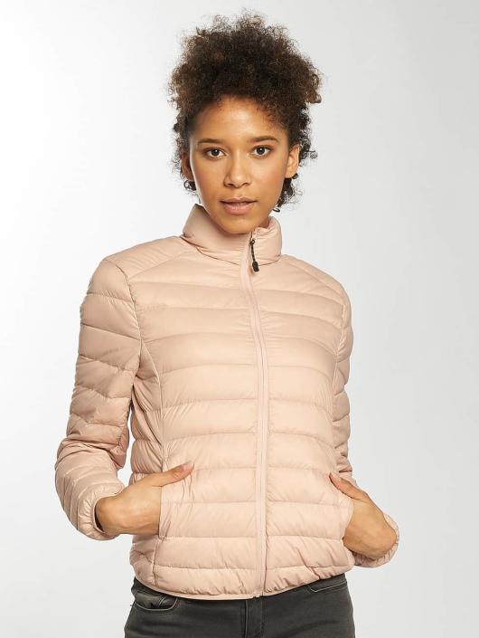 Urban Classics Lightweight Jacket Basic Down rose